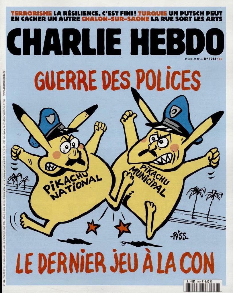 Charlie Hebdo n°1253 --- 27 juillet 2016