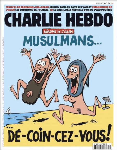 Charlie Hebdo n°1255 --- 10-aout-2016