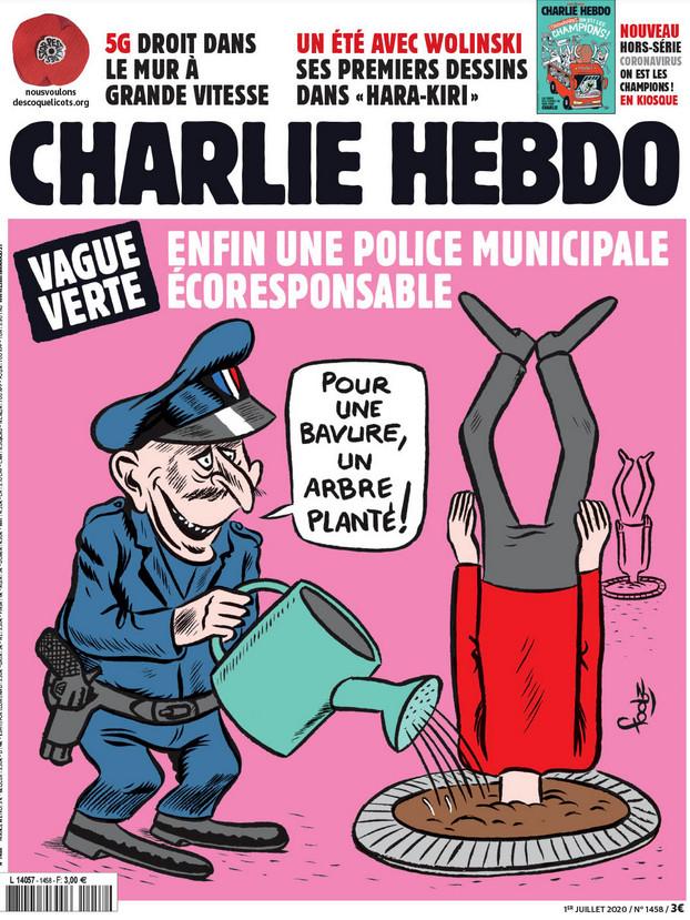 Charlie Hebdo n°1458 --- 1 juillet 2020 --- FOOLZ
