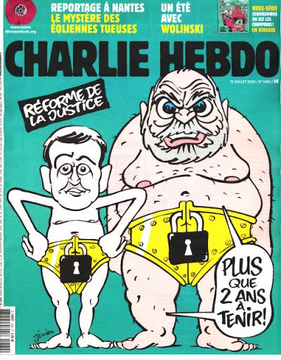 Charlie Hebdo n°1460 -- 20 juillet 2020 --- JUIN