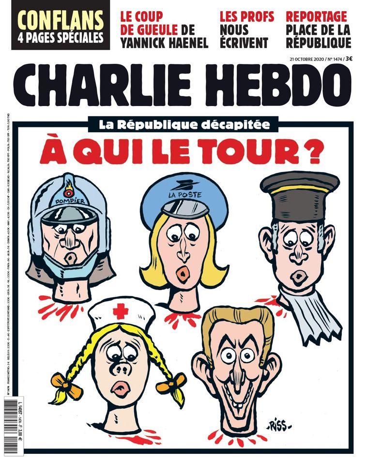Charlie Hebdo n°1474 --- 21 octobre 2020 --- RISS