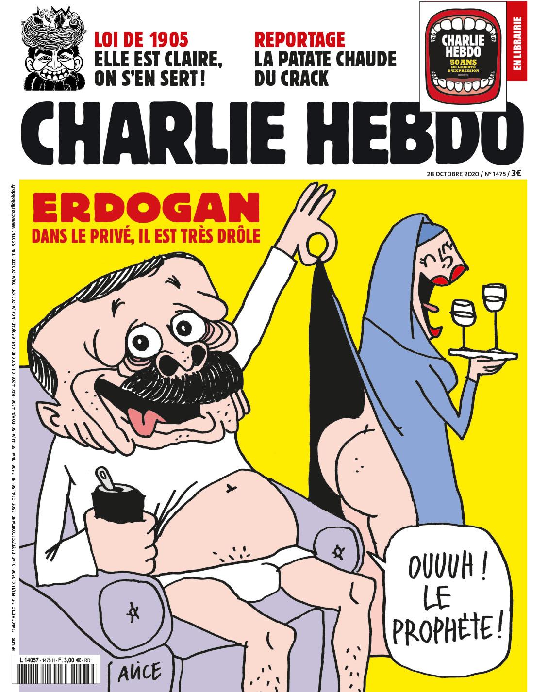 Charlie Hebdo n°1475 --- 28 octobre 2020 --- COCO