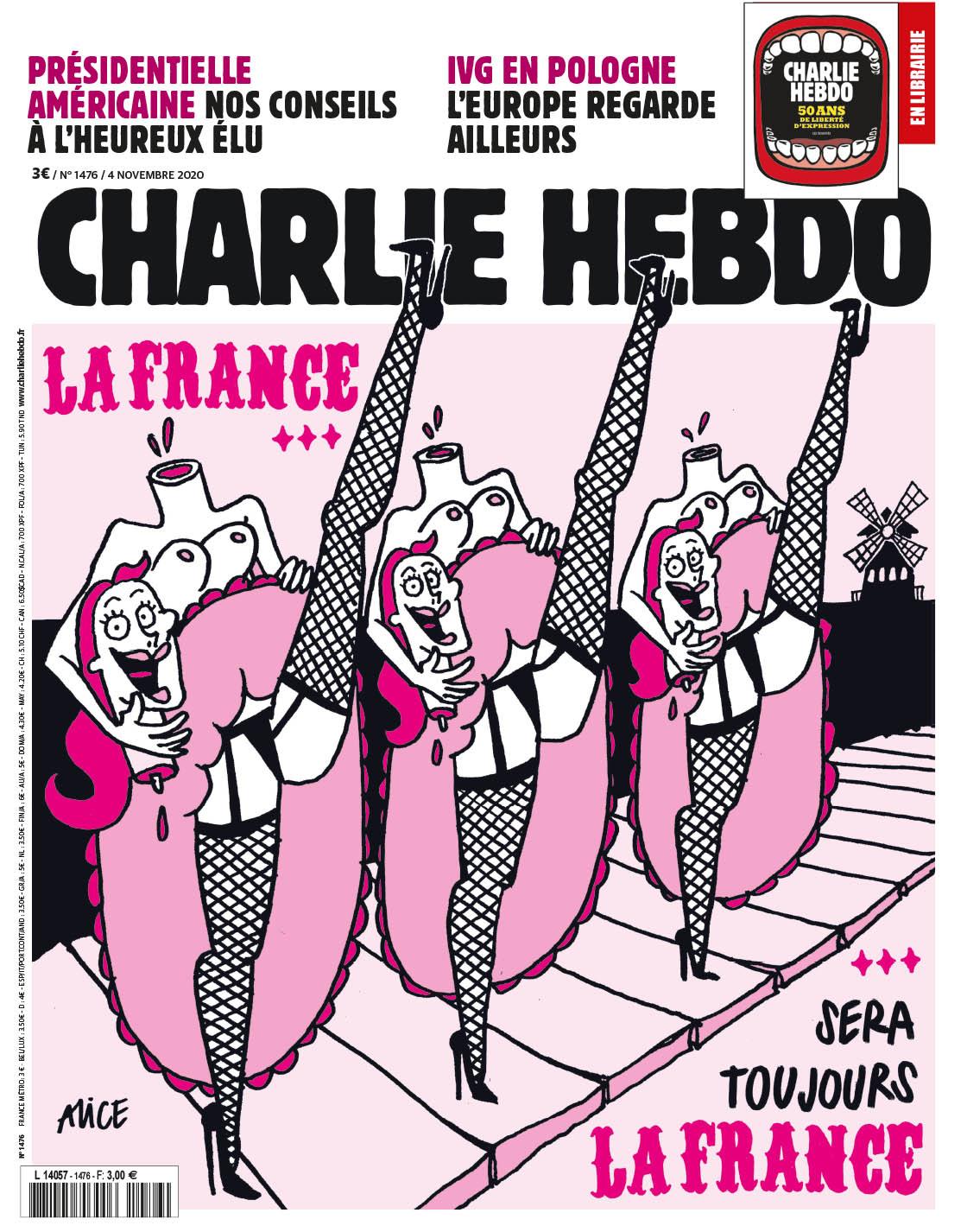 Charlie Hebdo n°1476 ---  4 novembre 2020 --- Alice