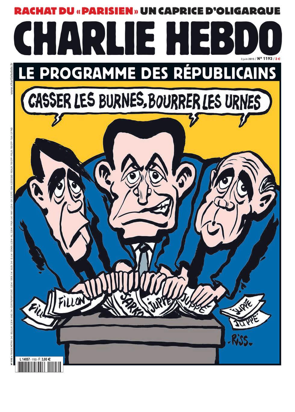 Charlie Hebdo - n°1193 - 3 juin 2015
