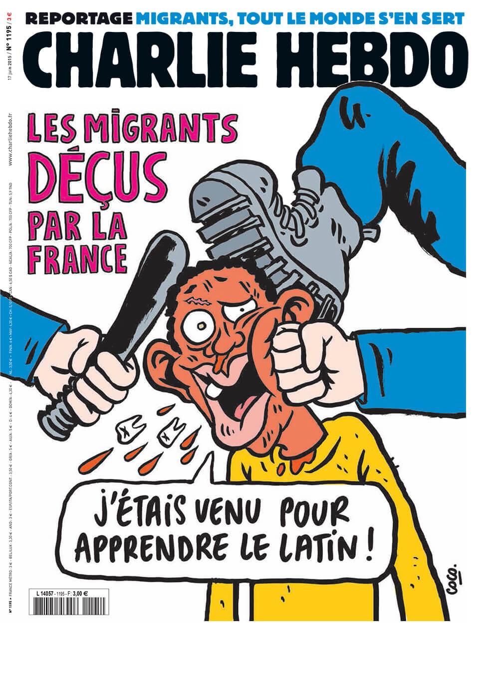 Charlie Hebdo - n°1195 - 18 juin 2015