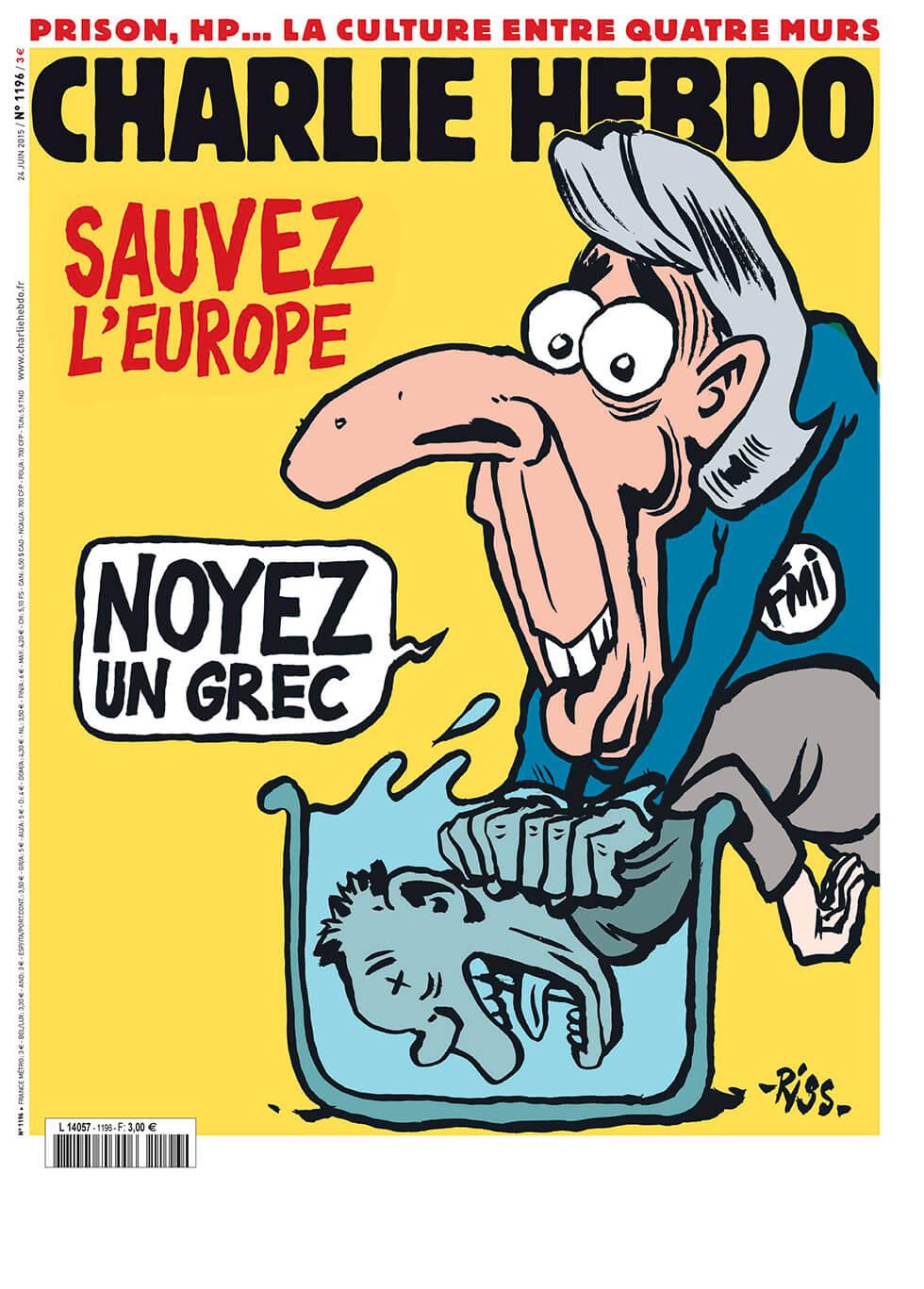 Charlie Hebdo - n°1196 - 25 juin 2015