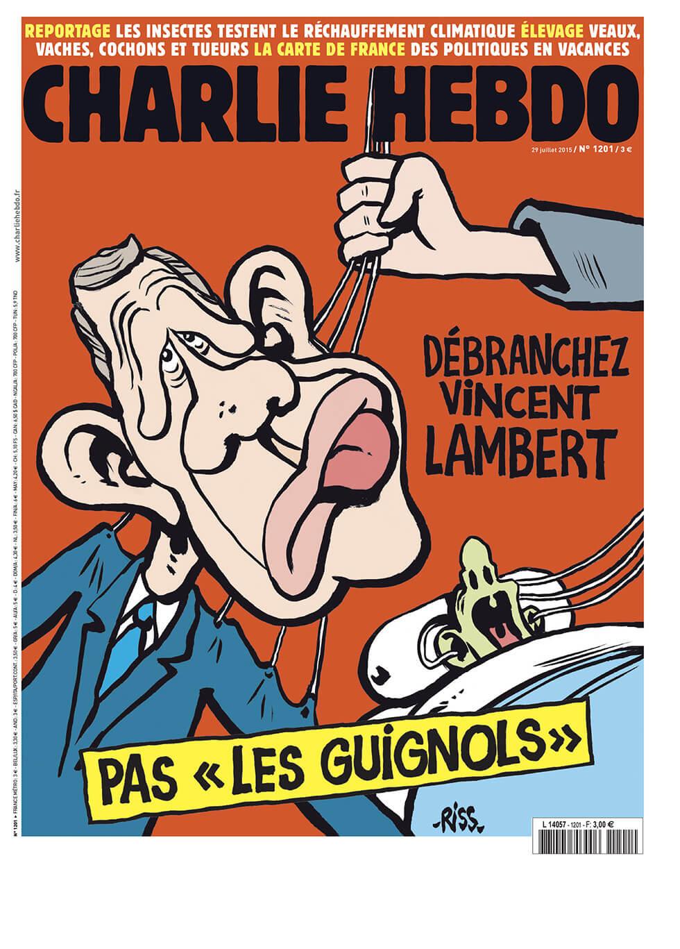Charlie Hebdo - n°1201 - 29 juillet 2015