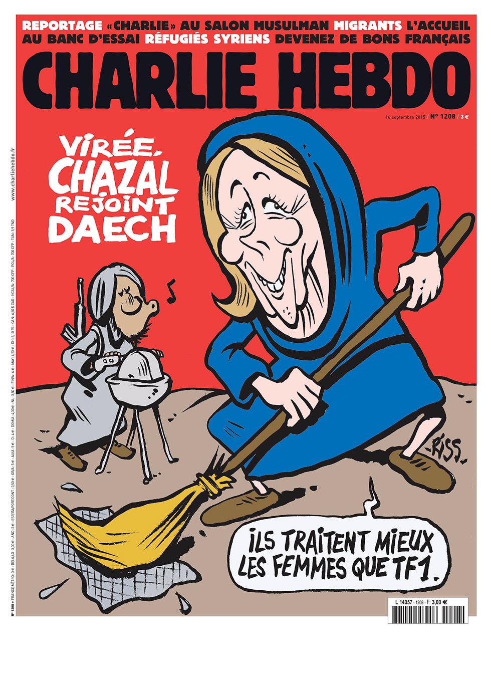 Charlie Hebdo n°1208 --- 16 septembre