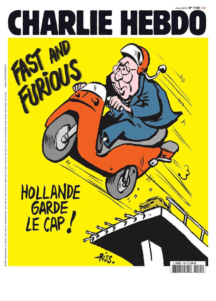 Charlie Hebdo - n°1185 - 8 avril 2015