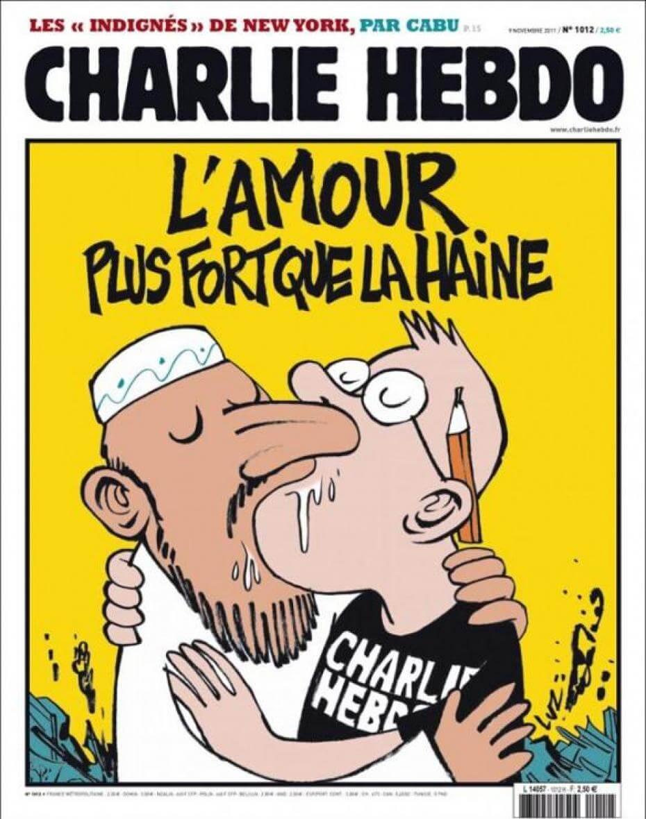 Charlie Hebdo - n°1012 - 9 novembre 2011
