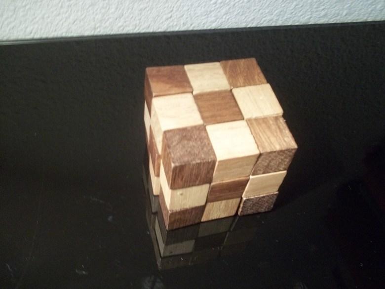 Le Snake Cube 3x3x3