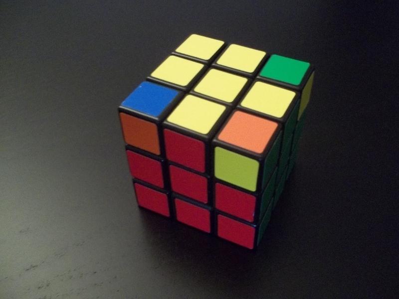Rubik's Cube le dernier etage - Blog de Fabrice Arnaurd