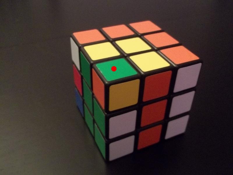 Rubik's Cube le dernier étage