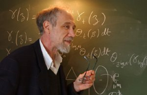 Portrait d'Alain Connes