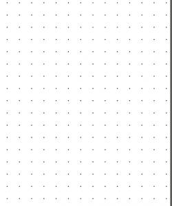 Feuilles de papier pointé à télécharger