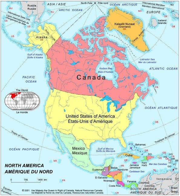 Brevet 2015 Amérique du Nord