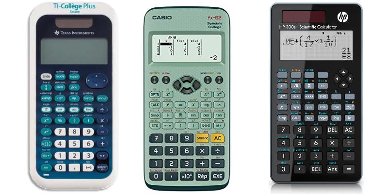 Calculatrice au collège