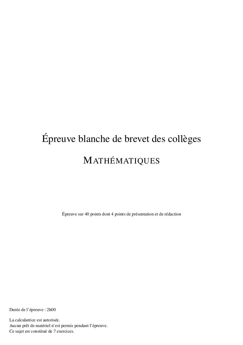 brevet blanc 2018 maths pdf