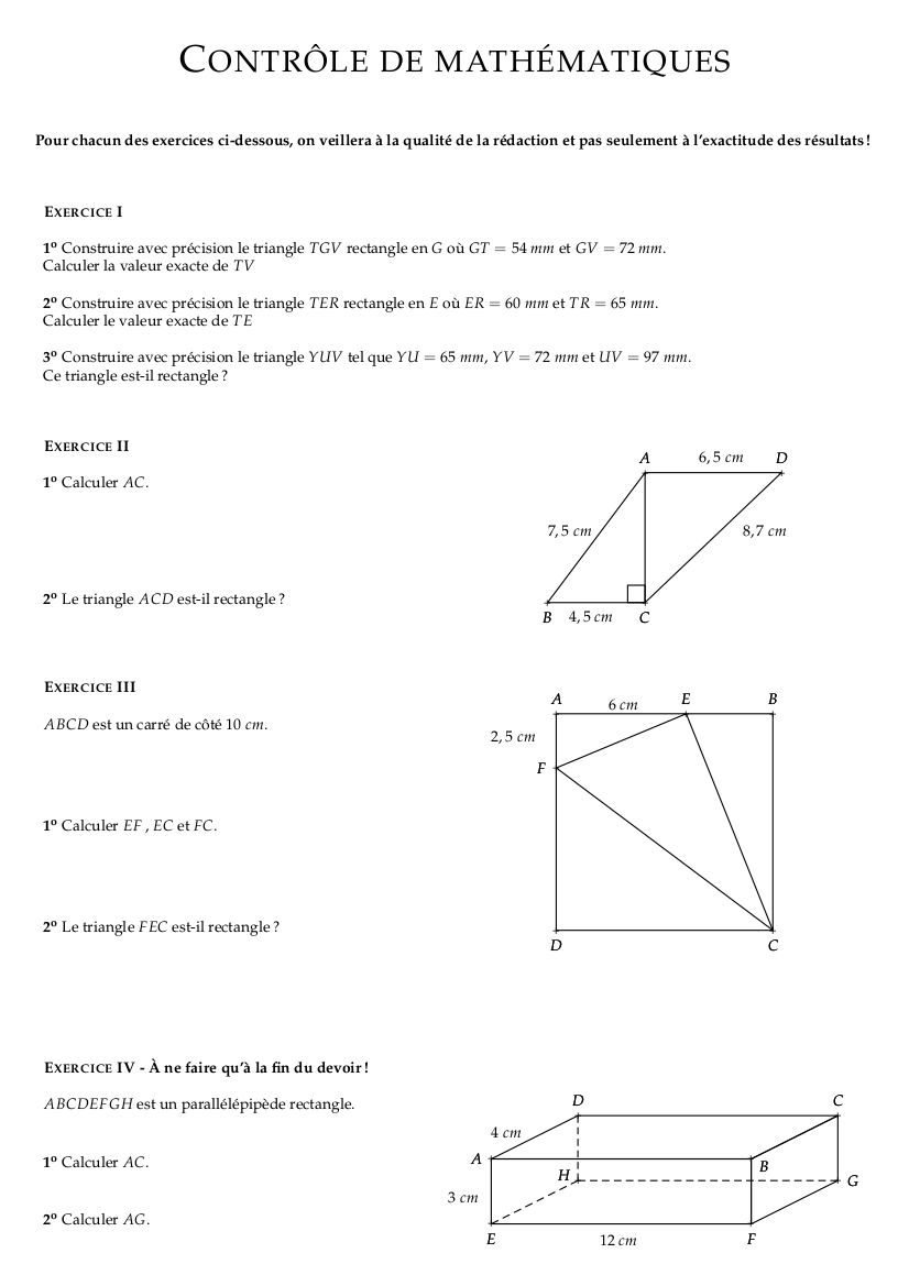 Controle_corrige_mathematiques_quatrieme_corrige