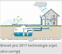 Brevet pro 2017 sujet 0 de technologie corrigé