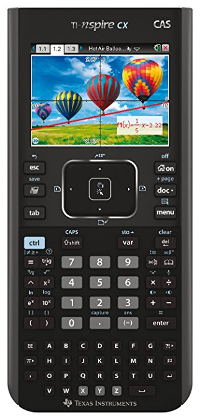 Calculatrice TI-NSPIRE CX CAS